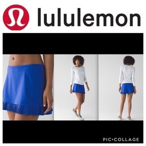 Lululemon City Sky Run By Skirt Harbor Blue
